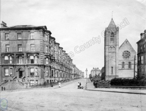 Albion Road and St Martin's Church, Scarborough